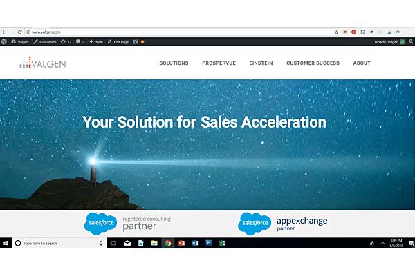 Valgen Website