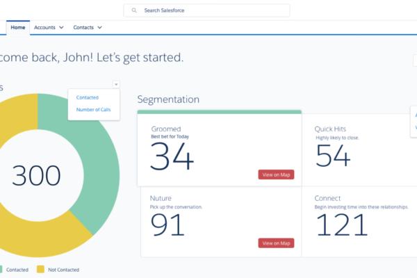 ProsperVue Customer Segmentation in Salesforce