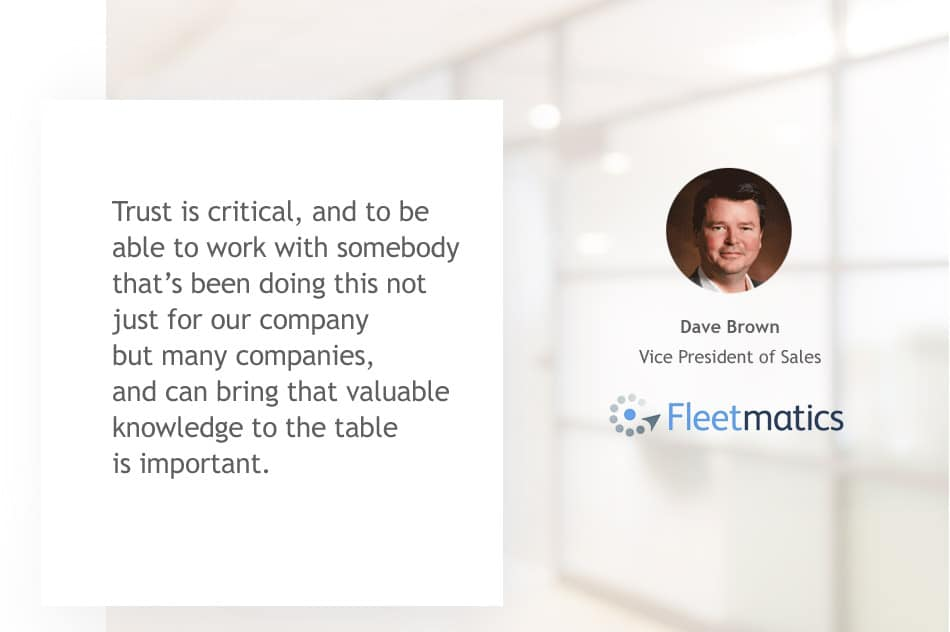 Fleetmatics Testimonial