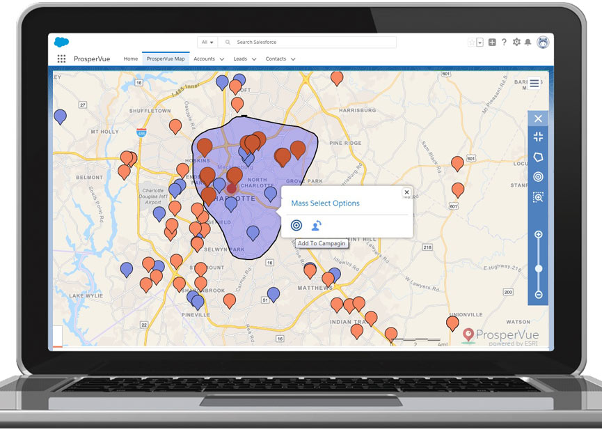 ProsperView Marketing Campaign Management Geolocation