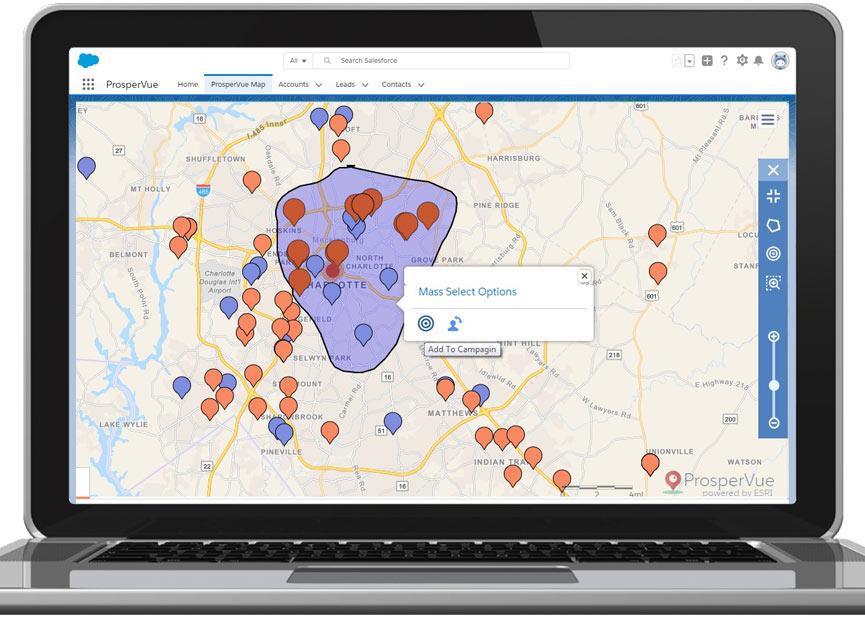 ProsperView Marketing Campaign Management Geolocation