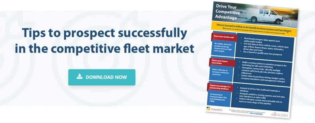 Commercial Fleet Business Prospecting