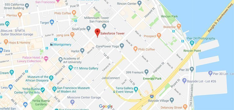 Salesforce Tower San Francisco on Google Maps