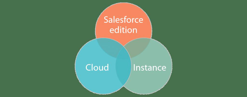 Salesforce Edition, Cloud & Instance
